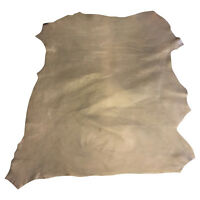 Brown Leather Soft Lambskin Hide Genuine Upholstery Fabric Craft Material 894