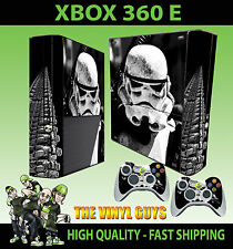 Xbox 360 E Stormtrooper Star Wars Empire Soldier Skin & 2 Polster Hülle
