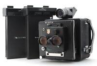 *MINT* WISTA ID PHOTO CAMERA w/ 130mm F/5.6 Twin Lens + PA-45 x2 From JAPAN #809