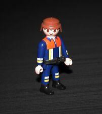 Playmobil pompiers pompier châtain 4819 4821 4914