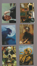 Lot of 6 X-Files TV show trading cards