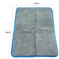 Soft Microfiber Buffing Towel Thick Plush Deep Pile Polishing Car Cloth 36x46