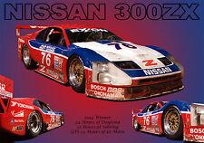 Nissan 300ZX IMSA GT Vintage Classic Race Car Photo (CA-0103)