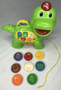 VTech Chomp & Count Dino Dinosaur Toddler Count and Learn Toy Complete