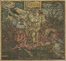 Y2755 CINZANO - Illustrazione a colori - Pubblicità del 1922 - Old advertising