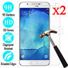 2X Tempered Glass 9H Film Screen Protector Cover For Samsung Galaxy J1 2 3 5 7
