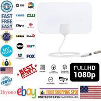 200 Mile TV Digital HD Skywire 4K1080p Range Antena Digital Indoor HDTV Antenna