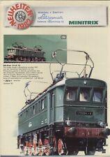 catalogo TRIX & MINITRIX Neuheiten 1982 HO N  aa