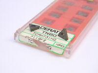 NEW SURPLUS 10PCS. CERATIP  TCMH 731-HQ GRADE: TN60  Cermet INSERTS