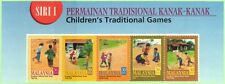 Malaysia 2000 Children's Traditional Games Series I ~ Mint