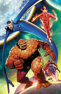 Fantastic Four #1 - Rob Liefeld Virgin Variant Cover - 2018 Marvel NM