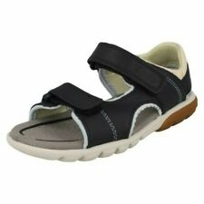 """Boys Clarks Hook And Loop Sandals """"Rocco Wave K"""""""