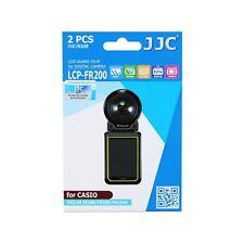 JJC Lcp-fr200 LCD Screen Protector Film for Casio Exilim Fr200 Fr100 Fr110h Camera