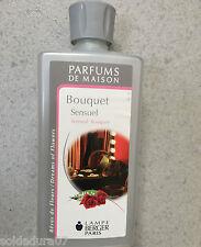 500 Ml  Perfume para quemadores LAMPE BERGER fragancia de casa  Bouquet Sensuel