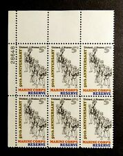 US Stamps Plate Block #1315 ~1966 MARINE CORP RESERVES Plate Block of 6 MNH