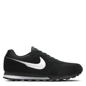 Nike MD Runner 2 Black White Genuine Trainers Casual Shoes UK stock Mens