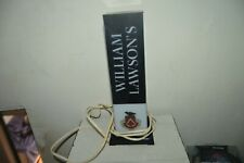 ANCIENNE LAMPE PUBLICITAIRE WILLIAMS LAWSON SCOTCH WHISKY LAMP COLLECTION PUB