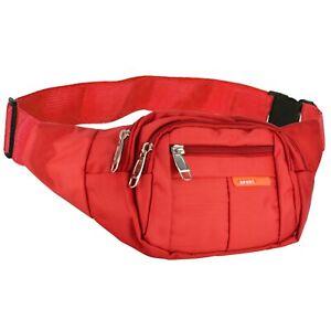 Sports Hiking Running Waist Belt Bag Fanny Pack Women Men Pouch Phone Card Case