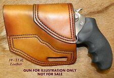Gary Cs Avenger Owb Left Hand Revolver Holster Ruger Sp 101 3 Heavy Leather