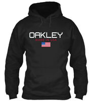 Oakley Made In Usa Gildan Hoodie Sweatshirt