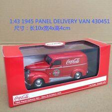 COKE DIECAST 1:43 1945 PANEL DELIVERY VAN DIECAST MODEL 430451