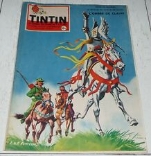 TINTIN 25/09 1958 N°518 HERGE BLAKE & MORTIMER TITANIC FLIBUSTIERS SALON AUTO