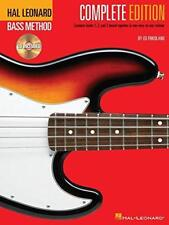 Hal Leonard Bass Method: Complete Edition by Friedland, Ed | Plastic Comb Book |