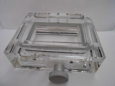 Qiagen 9600 Biorobot Acrylic Vacuum Manifold With Magnetic Lid