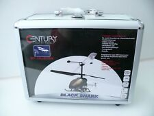 Century Sky Collection Black Shark 3-canal RC helicóptero 27mhz con control remoto