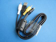Genuine SONY AV + USB Cable Cord For CyberShot DSC-W310 DSC-W320 DSC-W330 Camera