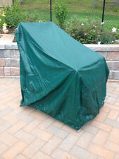 Patio Chair Cover Embossed Green Vinyl NEW Elastic Bottom Patio Protection