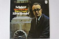 Schubert Sonata d960 escursionisti fantasia Alfred Brendel PHILIPS 6500285 lp44