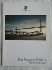 FOLLETO de rango de Porsche 2012 mercado de Estados Unidos