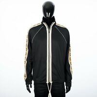 GUCCI 1600$ Oversize Technical Jersey Jacket With Interlocking G Stripe