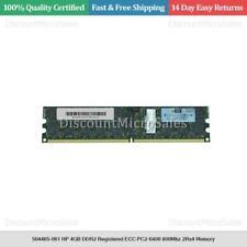 504465-061 HP 4GB DDR2 Registered ECC PC2-6400 800Mhz 2Rx4 Memory