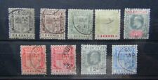 Mauritius 1910 values to 15 Blue Used
