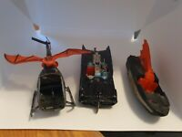 Corgi Toys 267  Batmobile With Glastron Batboat & Batcopter