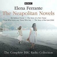 FERRANTE NEAPOLITAN NOVELS CD AUDIO BOOK COMPLETE BBC 10 DISCS BRILLIANT FRIEND