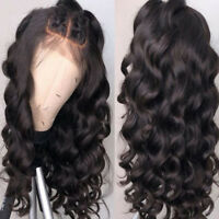 5X4.5 Silk Top Full Lace Human Hair Wigs Glueless Body Wave Wigs  Lace Front Wig