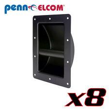 8 Penn-Elcom H1105 Recessed Steel Heavy-duty Pro stage type PA Cabinet Handle