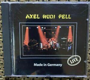 AXEL RUDI PELL - ''MADE IN GERMANY'' - RARE PROMO CD 1995 - STEELER/RAINBOW