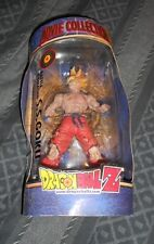 """""""DRAGONBALL Z - BATTLE DAMAGED S.S. GOKU"""" ACTION FIGURE (2001) IN PACKAGE"""