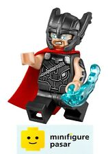 sh409 Lego Super Heroes Thor Ragnarok 76084 -  Thor Red Cape Minifigure - New
