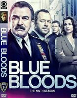 BLUE BLOODS SEASON 9 NINE 9TH  (DVD,2019) BRAND NEW SEALED FREE SHIPPING!