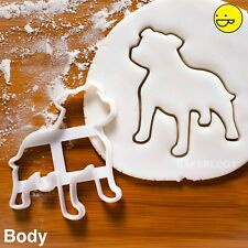 Staffordshire Bull Terrier cookie cutter | dog Staffy Stafford Staffie biscuit