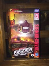 2021 Hasbro Transformers WFCT Kingdom Deluxe Class Warpath