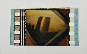 Spider-Man 2002 Pulled Trailer 35mm Genuine Film Cell WTC Twin Towers Rare MCU A