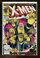 LOT OF 4 COPIES UNCANNY X-MEN #254 NEAR MINT 9.4 1989 MARVEL COMICS