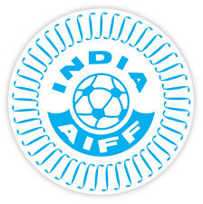 "India Indien AIFF National Football Association sticker decal 4"" x 4"""