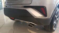 Auspuffblende passend für Toyota C-HR ab 2015 > Form Oval aus EDELSTAHL